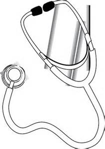 stethoscope coloring page images sketch coloring page