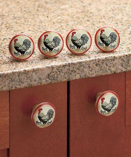 ceramic rooster cabinet knobs rooster cabinet ceramic kitchen knobs pull pulls