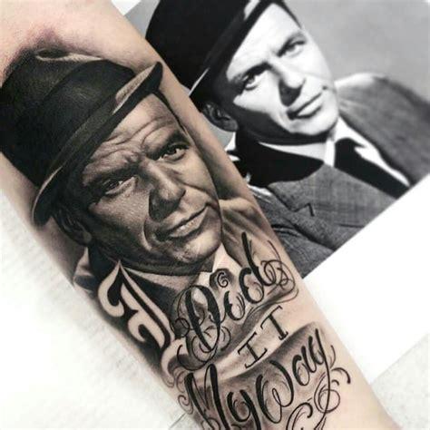 frank sinatra tattoo 15 swinging frank sinatra tattoos tattoodo