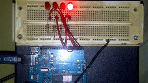 membuat lu led tulisan berjalan membuat lu berjalan dengan coding array arduino youtube