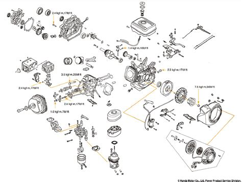 honda gx120 parts diagram honda gx270 wiring diagram 26 wiring diagram images