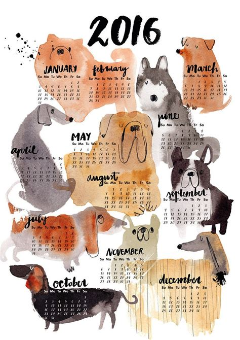 Inexpensive Wall Calendars 2016 25 Best Ideas About Calendar For 2016 On