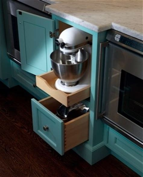 kitchen appliance storage cabinets custom storage cabinet mixer storage kitchen organization pinterest