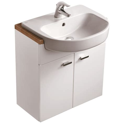 Countertop Basin Units product details e6493 600x300mm semi countertop basin unit ideal standard