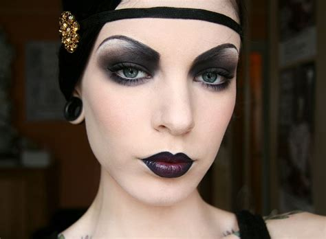 roaring twenties makeup pictures roaring 20s alternative makeup makeup nails hair