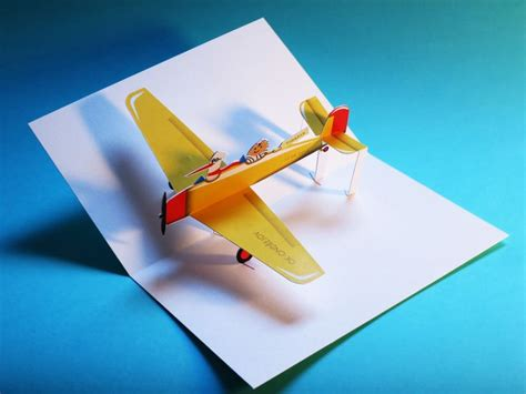 printable paper airplane card 43 best images about airplane pop ups on pinterest