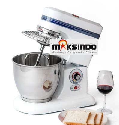 Mixer Roti Kapasitas 5 Kg mesin dough mixer 5 kg mks dg05 toko mesin maksindo