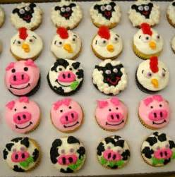 Southern Themed Party Decorations - farm animal cupcakes easter pinterest farm animal cupcakes and cup cakes