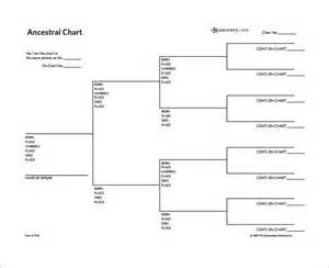 ancestral chart use appropriate forms genealogy