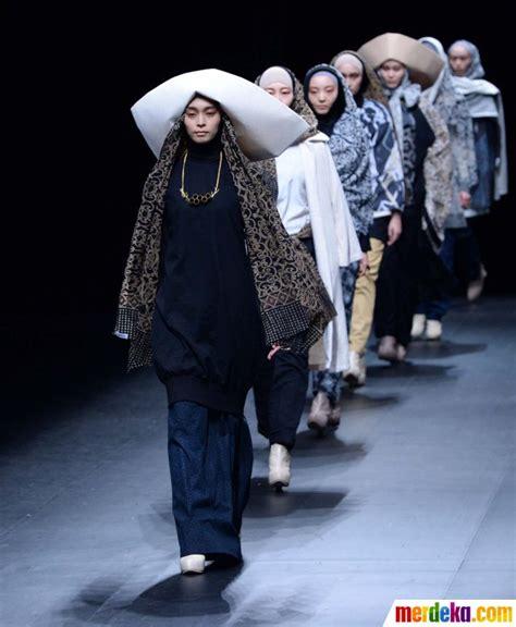 foto fashion show busana muslim merdeka foto kreasi busana muslim anak bangsa meriahkan tokyo