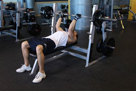 bench bar exercises reverse triceps bench press exercise guide and video