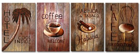 Wall Decor Shopping by Free Shipping The Coffee Shop Decoration Painting Artwork With Frame High Q Wall Decor Wall