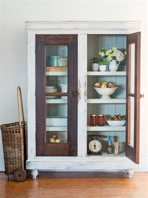 Recycled Kitchen Doors by Upcycle Reclaimed Doors Into A Custom Storage Cabinet Hgtv