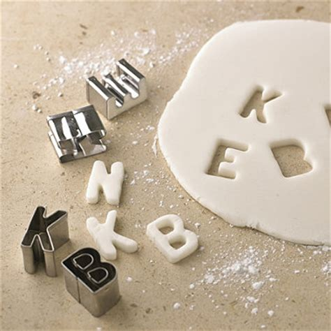 Sale Murah Cetakan 26 Huruf Abc Stainless Stell Cokelat Kue Jelly Bisk 26 A Z Alphabet Cookie Biscuit Cutter Embosser Cake Mould