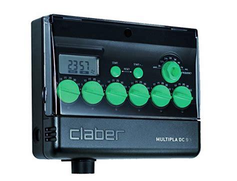 programmatore irrigazione giardino programmatori claber multipla 8060 programmatore