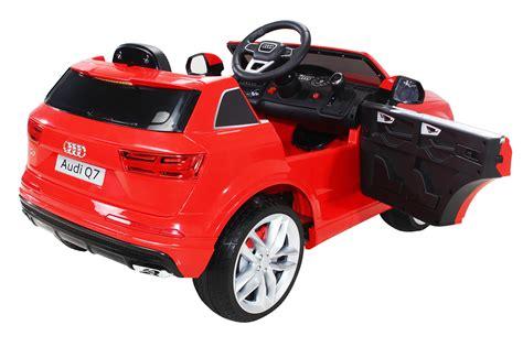 Kinder Akku Auto Audi Q7 by Elektroauto Audi Q7 Suv Kinderauto Elektrofahrzeug Kinder