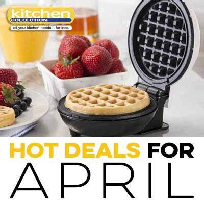 kitchen deals for april power square mall
