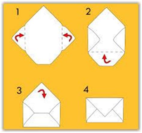 Origami Hobby - make an envelope from a4 paper pesquisa paper