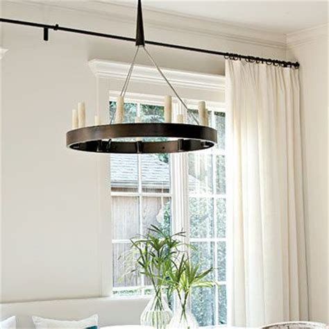 curtain rod wall to wall wall curtains white curtains and curtain rods on pinterest