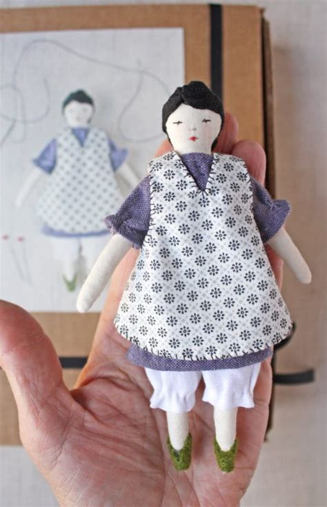 rag doll instagram tiny rag doll sewing kit wood handmade