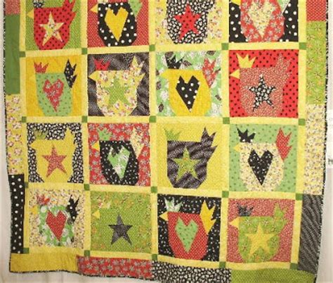 Chicken Quilt Patterns by Indigo Threads The Chicken Quilts
