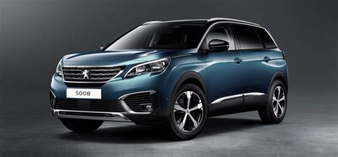 peugeot turns 5008 minivan into 7 seat soft roader