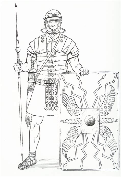 coloring page of trojan trojan war warriors coloring pages