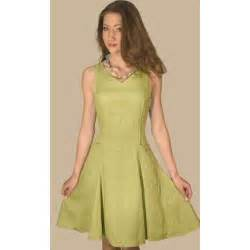 Linen dresses linen dress with v shaped neckline thisnext