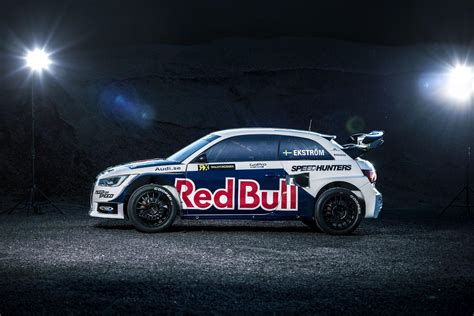 rallycross truck audi s1 ready to rallycross in red bull livery autoevolution