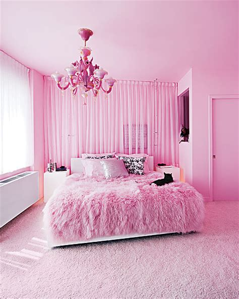 Pink Bedrooms | creative influences pink bedroom