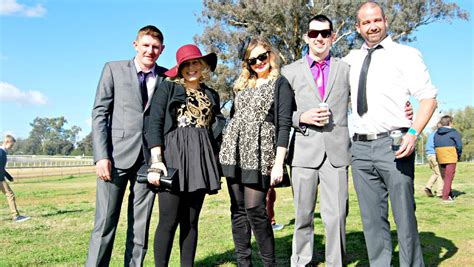chris sullivan denison gallery social snaps at the cowra picnic races cowra