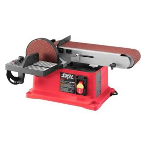 skil 4 4 in x 36 in corded electric belt disc sander
