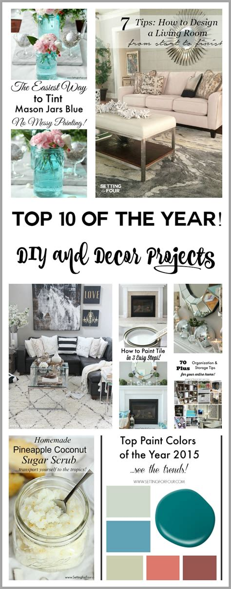top 10 favorite blogger home tours top posts of the year setting for four