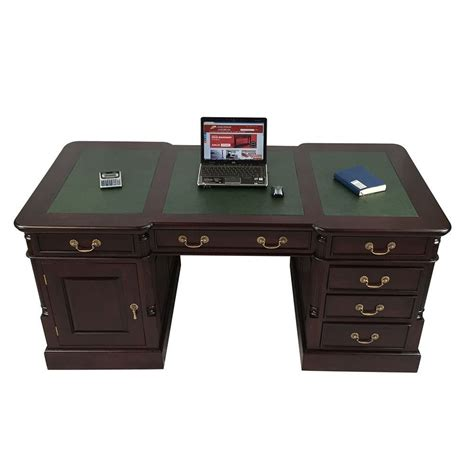 Solid Mahogany Desk by Antique Style Mahogany Office Furniture Wood Executive