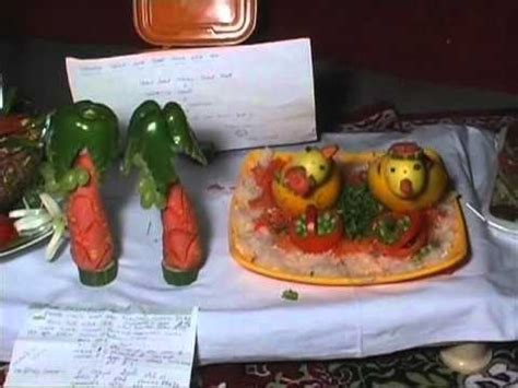 salad decoration at home vedanta balco news 437 salad competition 2011 wmv