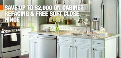 home depot kitchen cabinet refacing kitchen cabinet refacing at the home depot