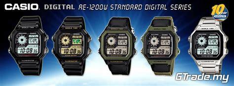 Batt Original Ae casio standard ae 1200whb 3bv digital 10y batt wolrd