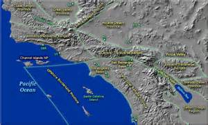 southern california mountain ranges map western region geology and geophysics science center