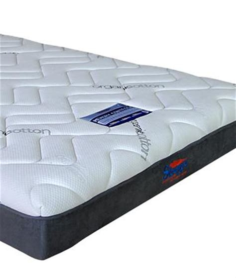 Sleepys Contessa Memory Foam Mattress by Organic Cotton Covered Contessa 60mm Memory Foam Mattress