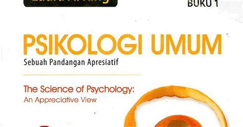 Psikologi Umum 1 A King 1 buku psikologi umum a king entailed
