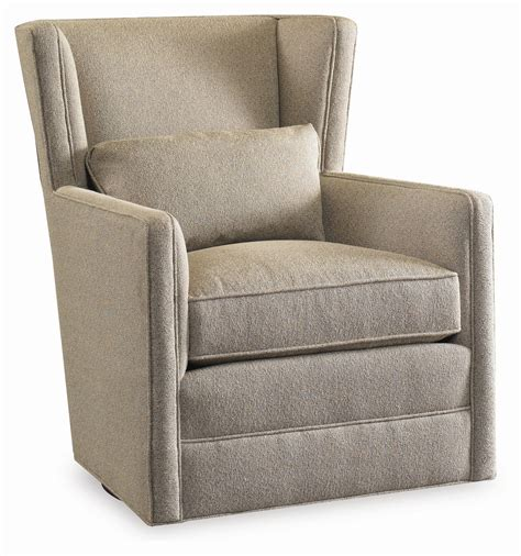 Surry Swivel Wing Chair By Sam Moore Wolf Furniture Swivel Cing Chair