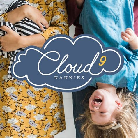 doodlebug nanny agency web designers cloud 9 nannies website and brand