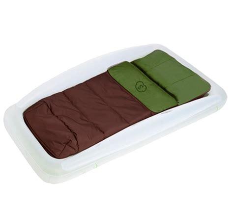 new shrunks tuckaire outdoor travel air mattress bed w rails sleeping bag