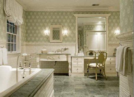Georgian Historic Residence   Bathroom   Chicago   by