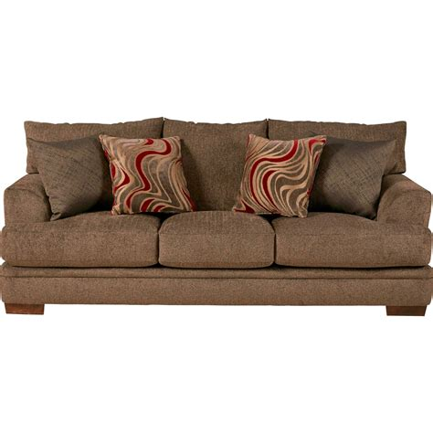 Casual Sofas And Chairs Jackson Furniture Crompton Sofa With Casual Style Suburban Furniture Sofa
