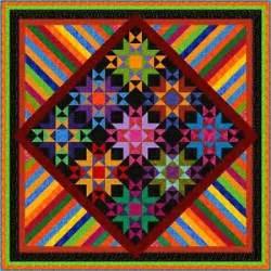 zippity do dah 105 quot pre cut patchwork quilt kit by quilt