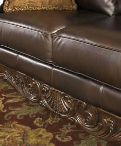 Asm Upholstery North Shore Dark Brown Laf Corner Chaise From Ashley
