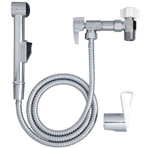 bidet lowes shop aquaus chrome toilet mounted handheld bidet at lowes