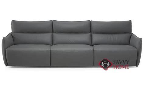 natuzzi leather power reclining sofa amusa c027 leather sofa by natuzzi is fully customizable