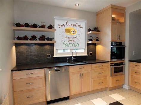 estores decoracion tres ideas para decorar la cocina de manera divertida el